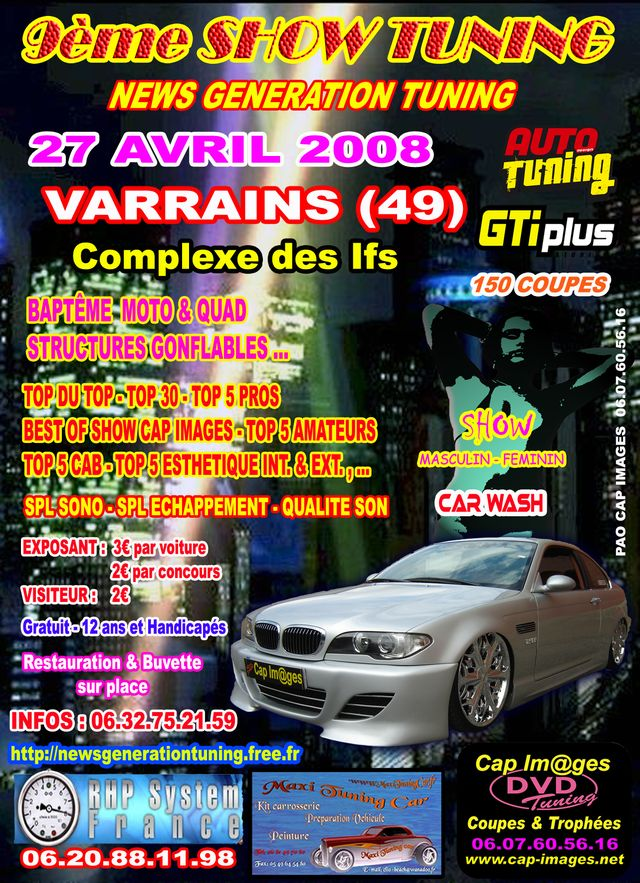 9éme meeting du News Generation Tuning le 27 avril 2008. - Meeting, salons... - Discussion générale