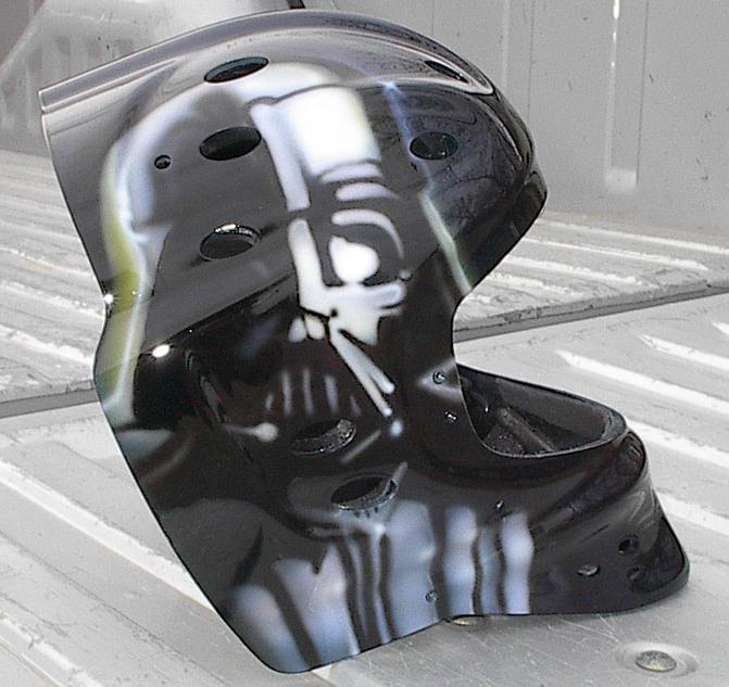 casque de moto dark vador. Black Bedroom Furniture Sets. Home Design Ideas