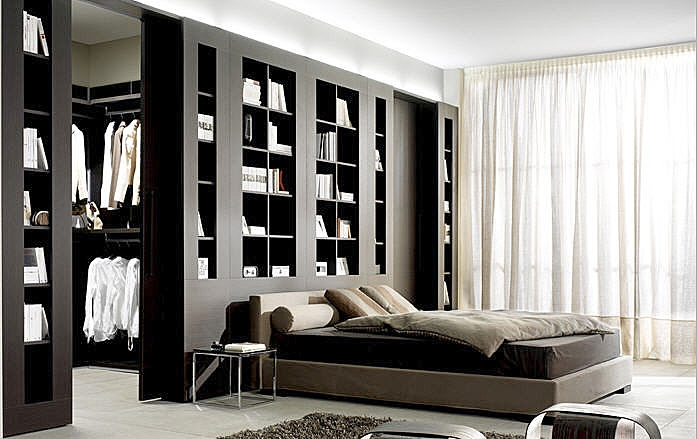 chambre avec dressing. Black Bedroom Furniture Sets. Home Design Ideas