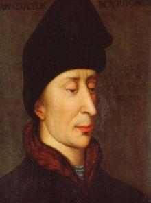 Jean Ier de Bourgogne, dit Jean sans Peur, duc de Bourgogne