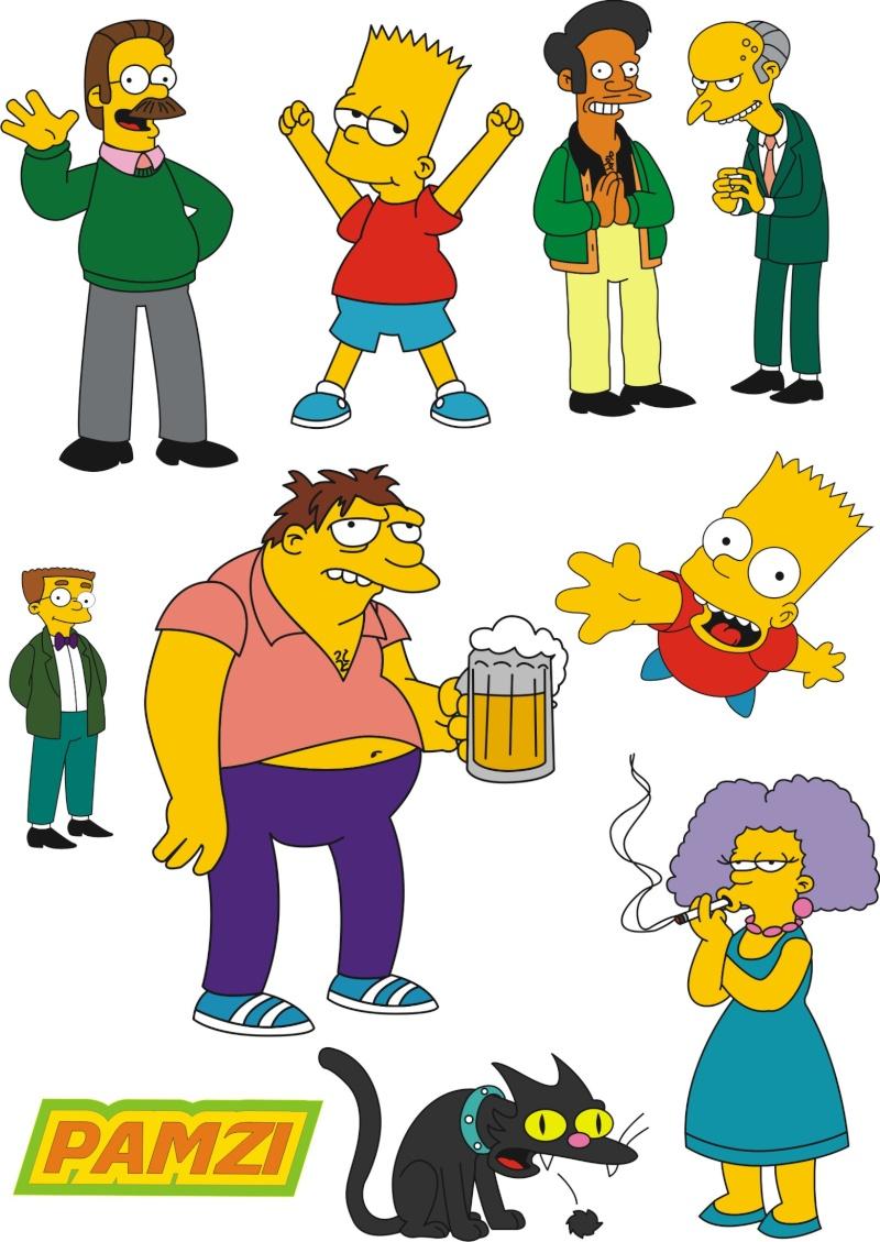 картинки всего симпсоны герои имена еще один вариант