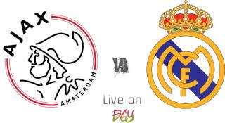 مشاهده مباراه ريال مدريد واياكس امستردام بث مباشر