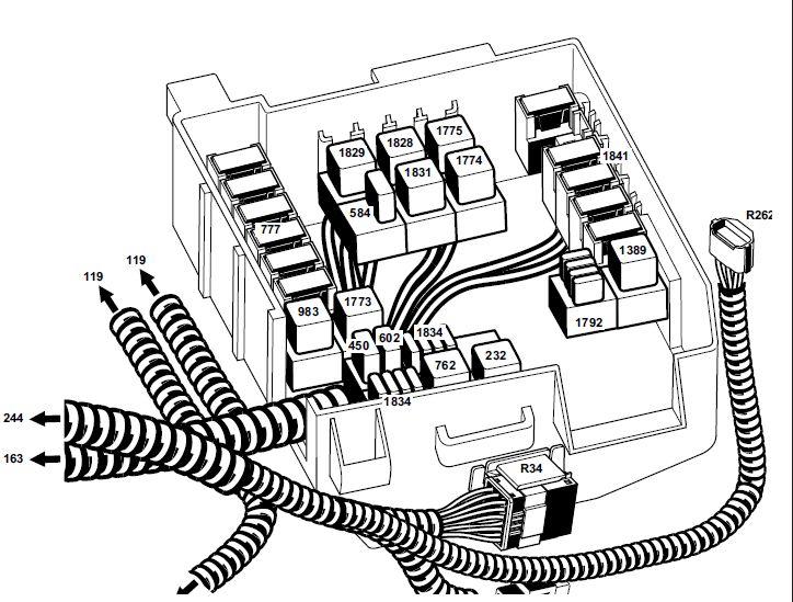 Schema electrique renault trafic dci