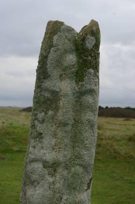 stele de la chapelle de saint Guirec a Keremma