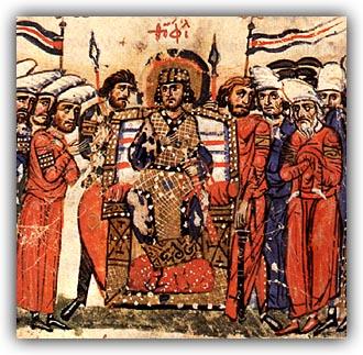 empereur iconoclaste Theophilos