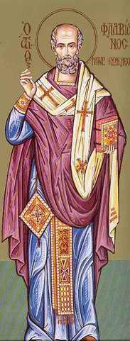 saint Flavien le Confesseur, patriarche-martyr de Constantinople