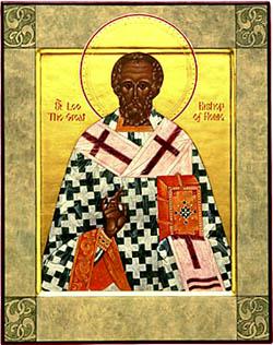 icone de saint Leon le Grand, pape de Rome