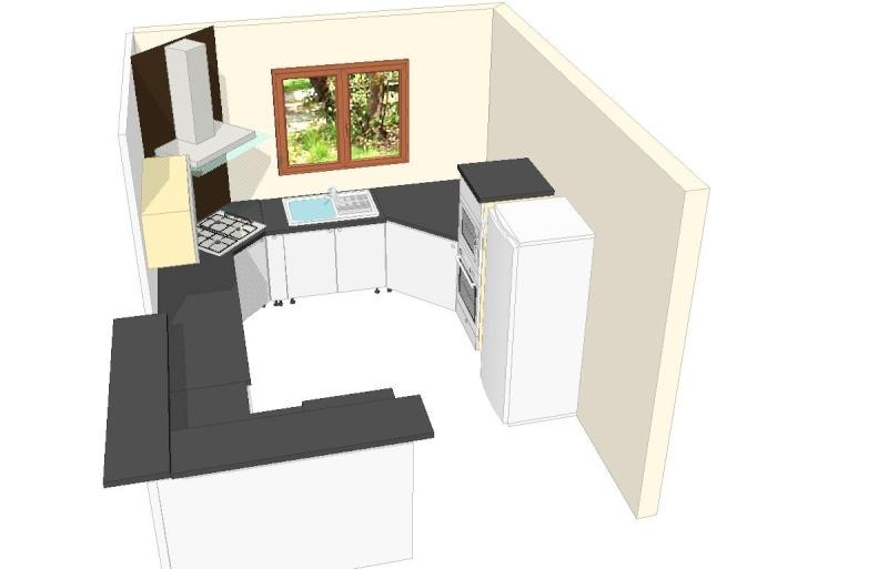 fabulous ci joint pr vs donnez une ide du modle choisi puis la vue de notre cuisine vos avis. Black Bedroom Furniture Sets. Home Design Ideas