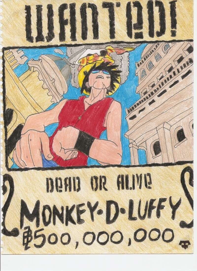 Luffy Wanted