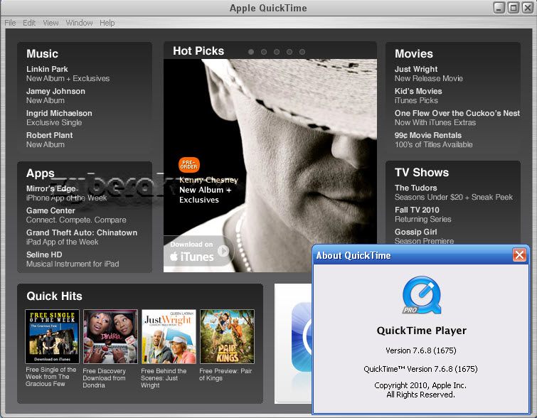 Download QuickTime Player - Windows 10 version Free