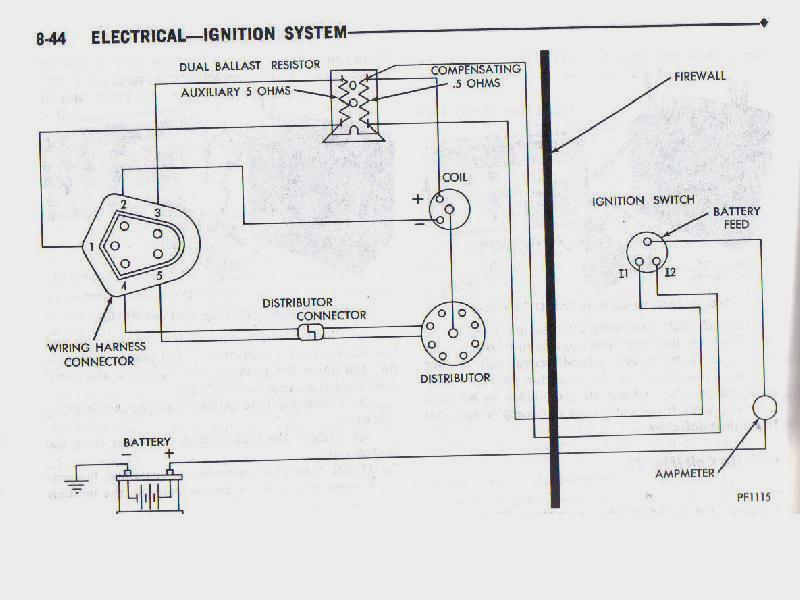 Pertronix Ignitor Wiring Diagram Bob Johnstones Studebaker – Dodge Ignition Coil Distributor Wiring Diagram