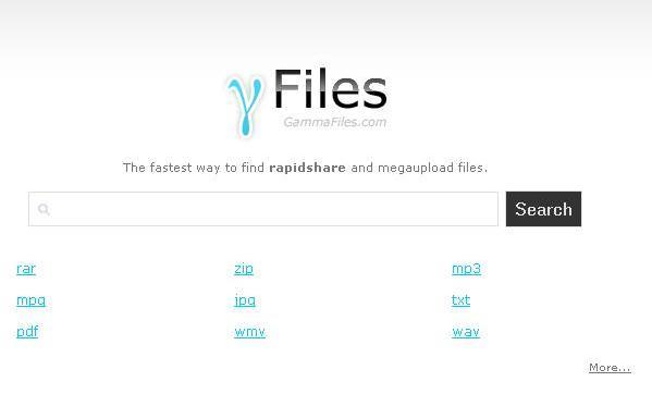 Buscar archivos Megaupload y Rapidshare