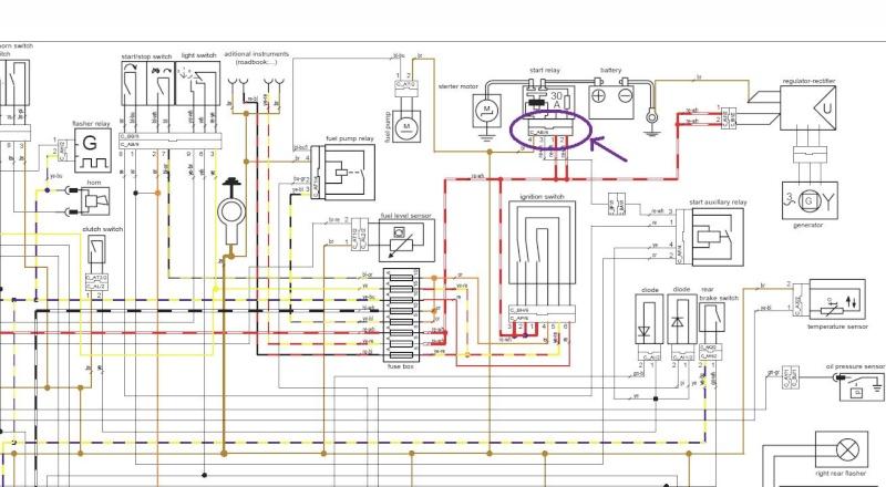Schema Elettrico Ktm Exc : Help cherche référence d une fiche électrique