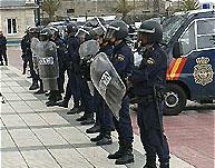 La Policía está en máxima alerta por los disturbios...