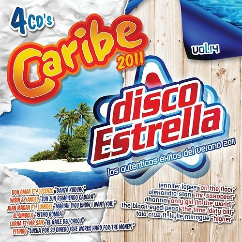 Caribe 2011 + Disco Estrella Vol. 14 [4 CD's] (2011)