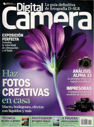 Revista: Digital Camera Febrero - 2011 [316.69 MB | PDF | Español]