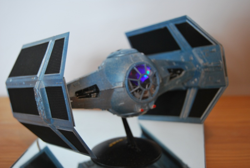 X Wing And Vader Tie Fighter W Lights