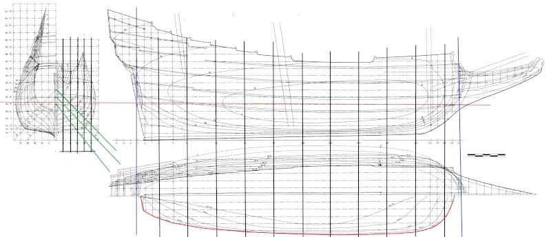 Geometria delle carene for Piani di costruzione dell edificio