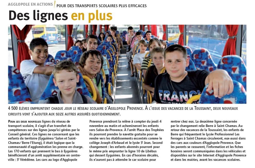 Transport mobilit urbaine afficher le sujet salon de provence r seau lib bus - Horaires bus salon de provence ...