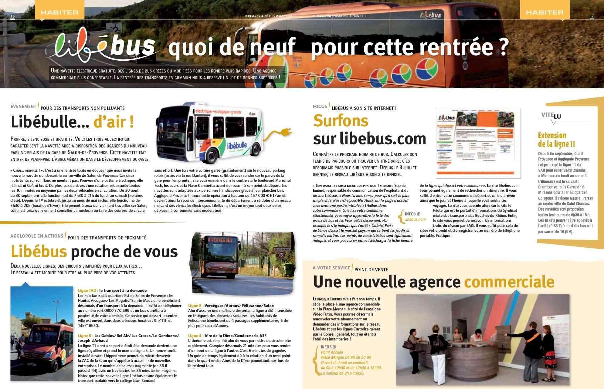 R seau lib bus salon de provence 13 - Horaire bus salon de provence ...