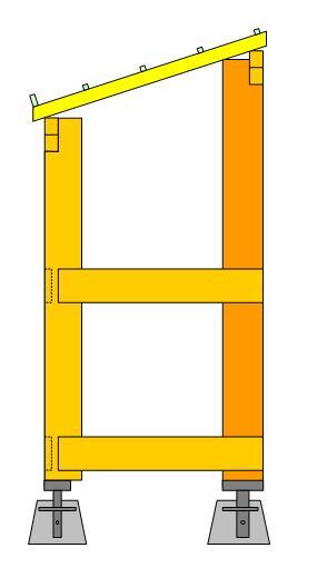 fabrication d 39 un abris bois. Black Bedroom Furniture Sets. Home Design Ideas