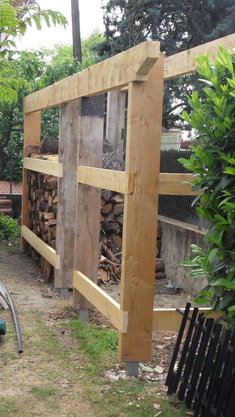 Fabrication D Un Abris Bois # Fabriquer Son Hangar En Bois