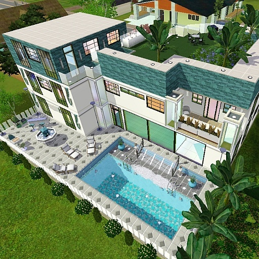 Forums community the sims 3 for Pool design sims 4