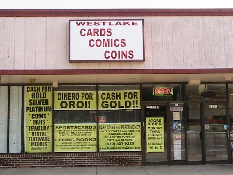 Westlake Cards, Comics & Coins Forum