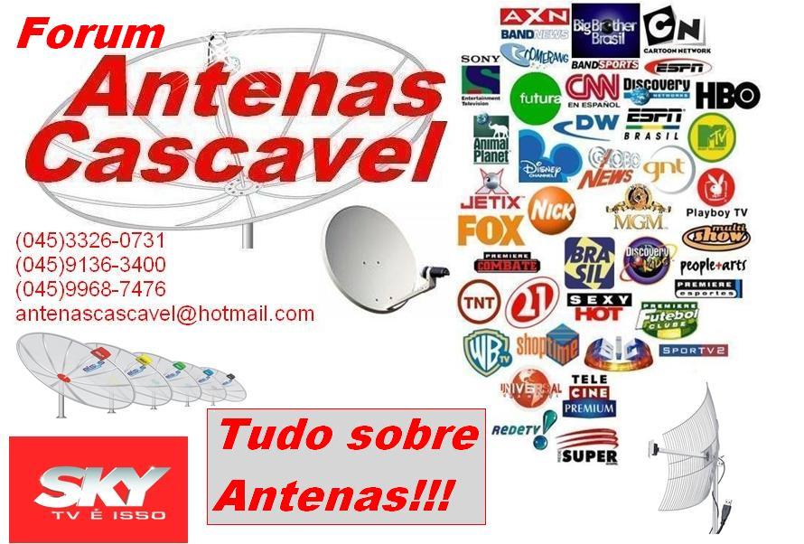 antenas cascavel forum