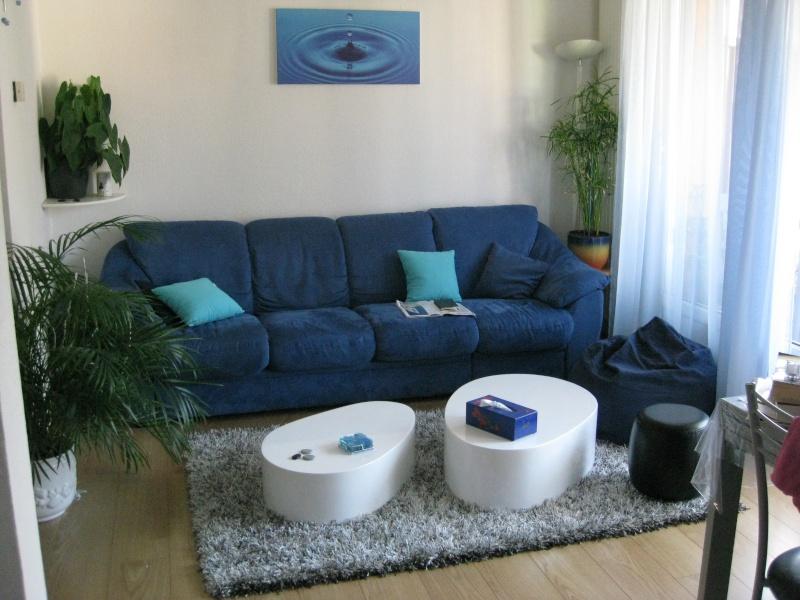 Retouches peinture de mon salon blanc bleu for Peindre mon salon en gris