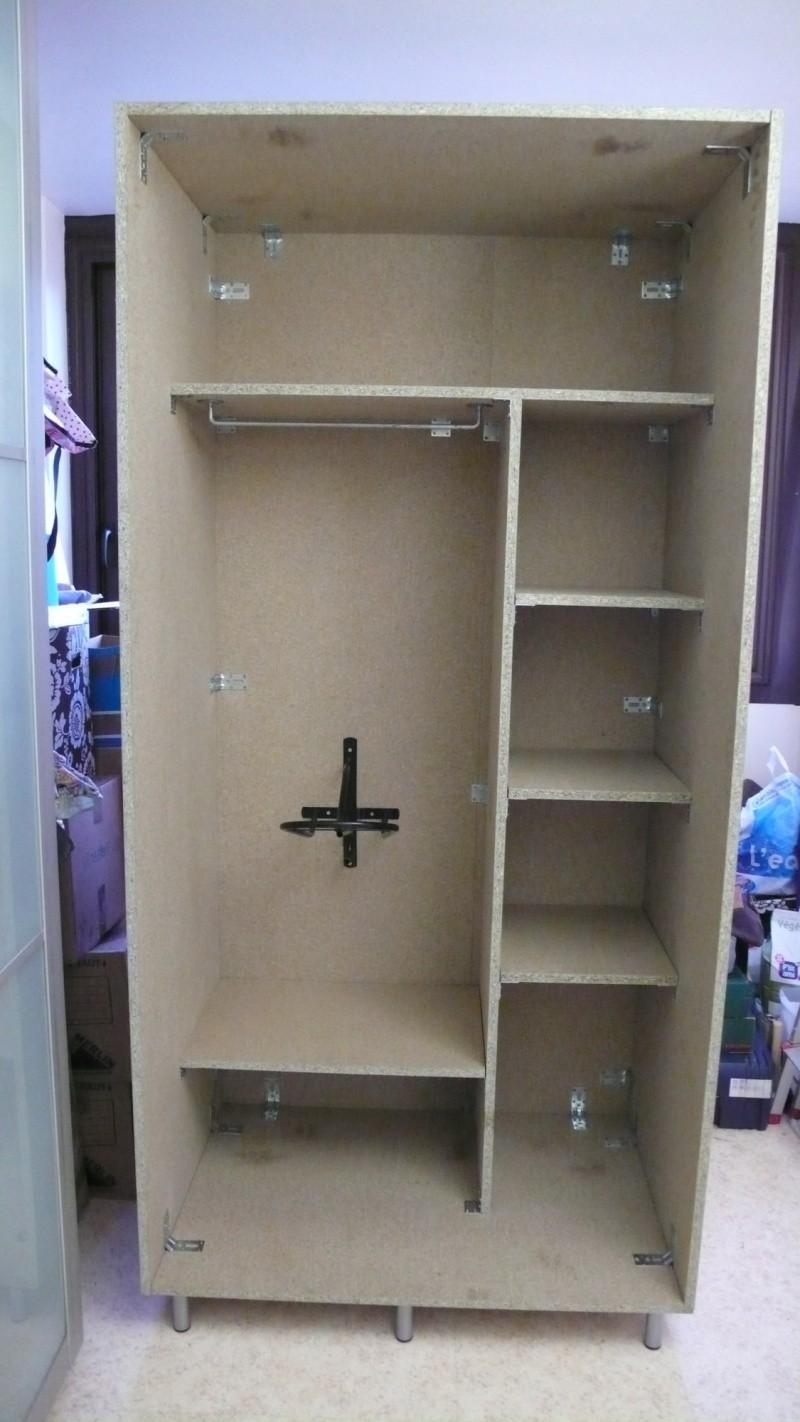 Fabrication dune armoire de sellerie -> Fabrication DArmoire