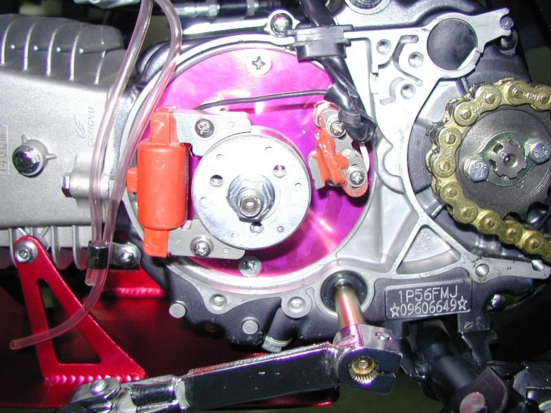 Reglage allumage rotor interne