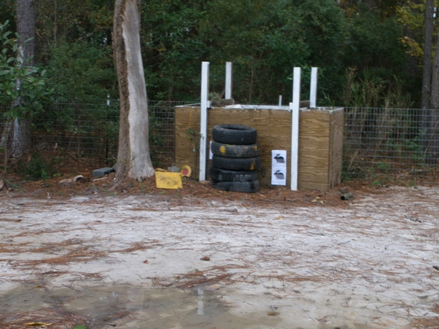 Backyard Archery Range Design : Sounds like yours will work for you What is behind the backstop?